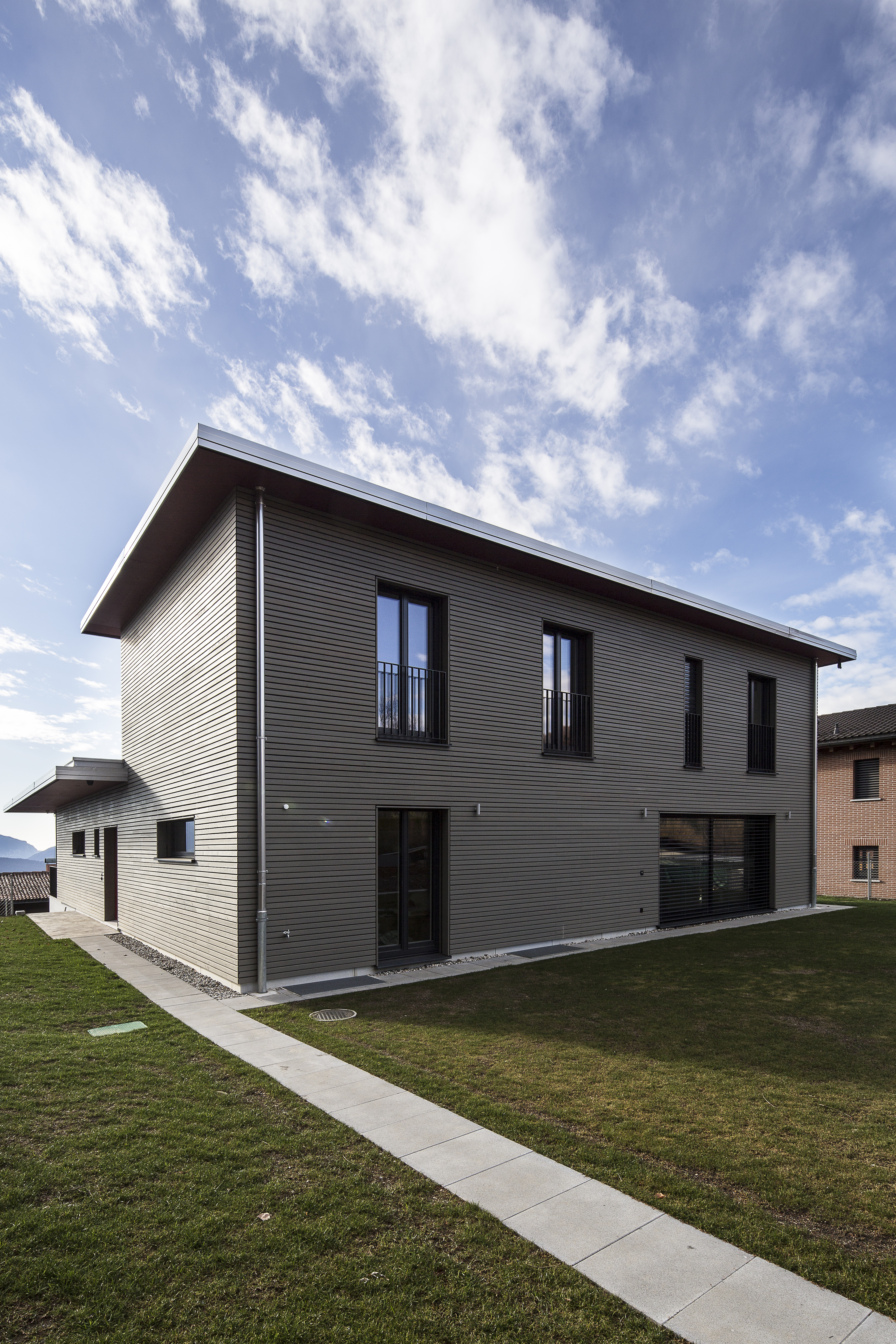 First Riko Passive house in Switzerland