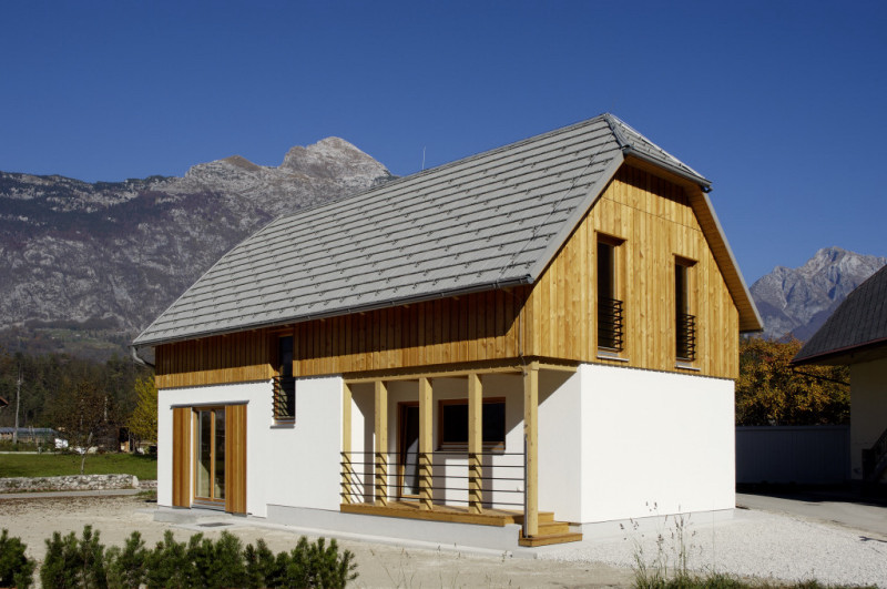 Low-energy house – Bovec