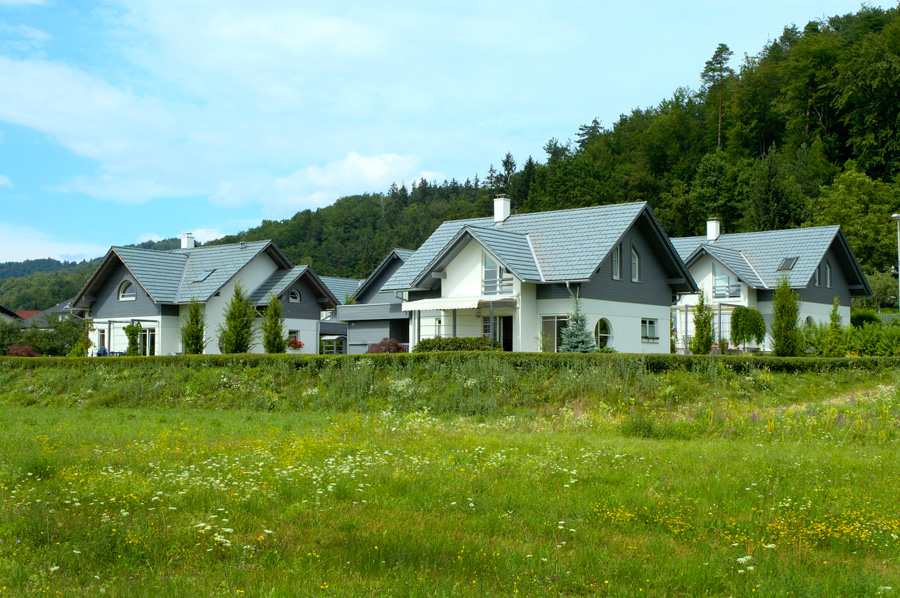 Estate of five houses near Ljubljana