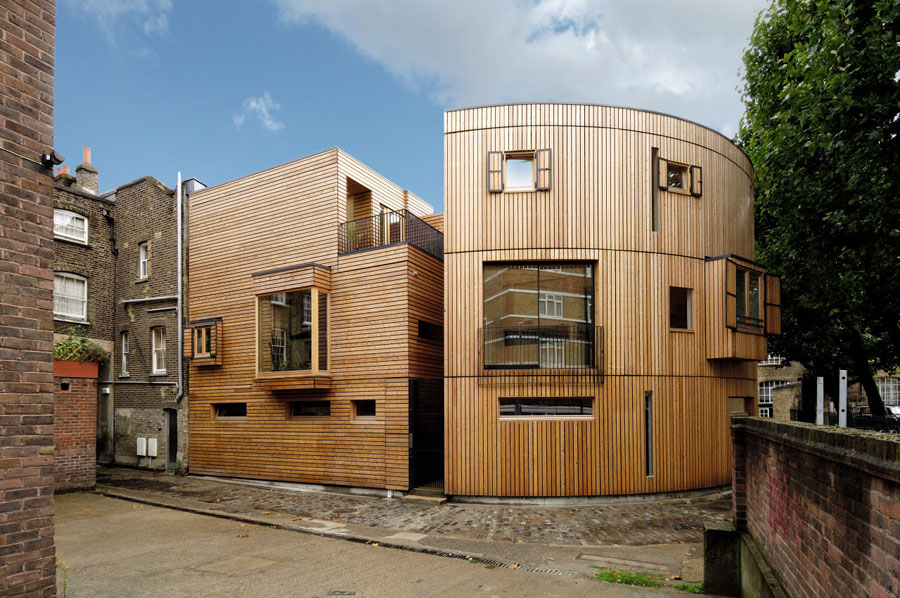 Wooden house in the British capital