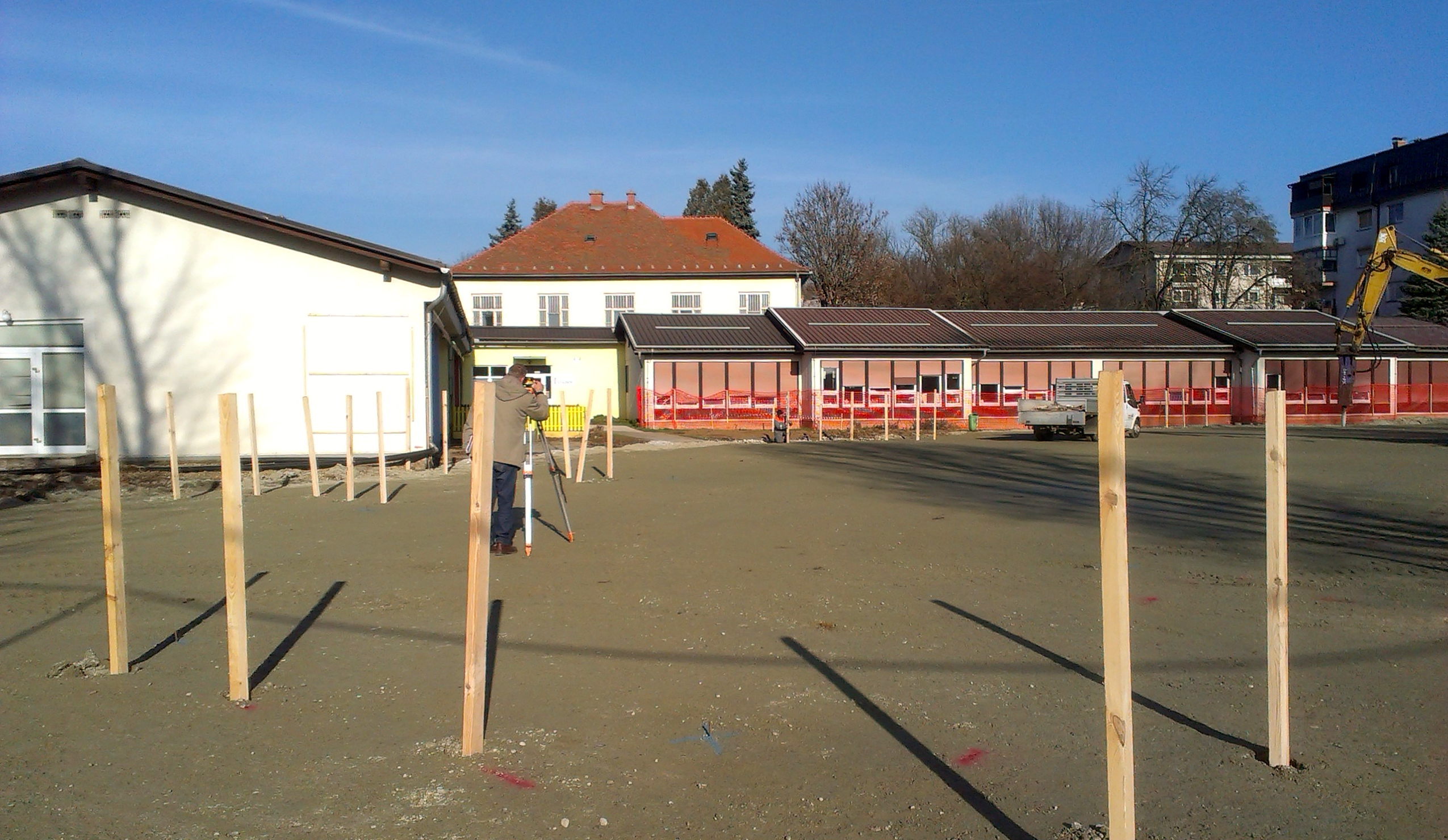 The works on the kindergarten in Murska Sobota are going according to plan