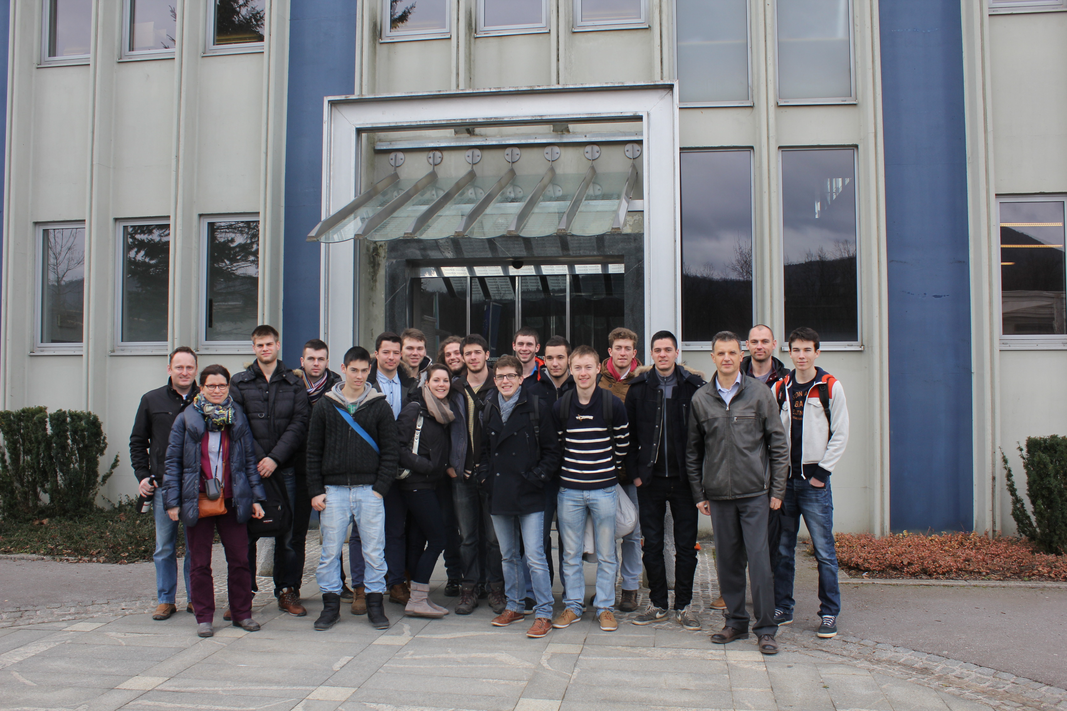 Visit of French students