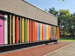 One of the most colourful Ljubljana kindergartens
